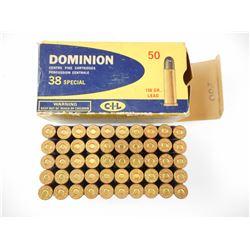 DOMINION 38 SPECIAL AMMO