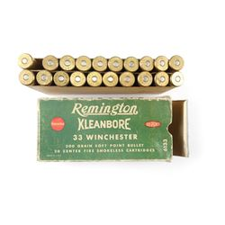 REMINGTON 33 WINCHESTER AMMO