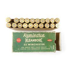REMINGTON 33 WINCHESTER AMMO