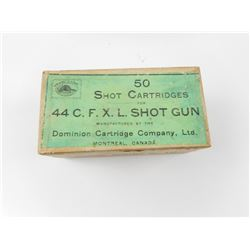 DOMINION 44 C.F.X.L. SHOTGUN AMMO