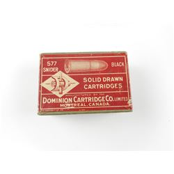 DOMINION 577 SNIDER AMMO