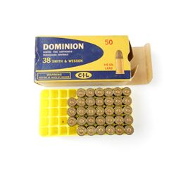 DOMINION 38 SMITH & WESSON AMMO