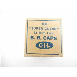 CIL SUPER CLEAN 22 BB CAPS 'RARE'