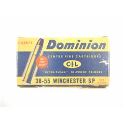 DOMINION (CIL) 38-55 WIN AMMO