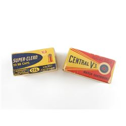 CENTRAL V'S - SUPER CLEAN 22 BB'S. & 22 LR AMMO