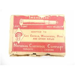 NATIONAL CARTRIDGE COMPANY 303 BRITISH CORDIT AMMO