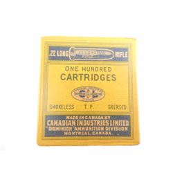 CIL (YELLOW BOX) 22 LR SEALED BOX 'RARE'