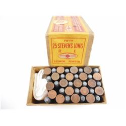C.I.L. SUPER CLEAN PRIMING 25 STEVENS (LONG) AMMO