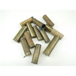 ELEY PIN FIRE SHOTSHELLS, SHOTGUN BRASS
