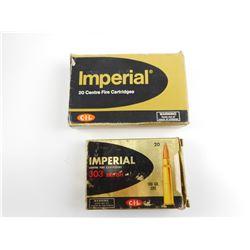 IMPERIAL .303 BRITISH AMMO
