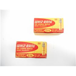 WHIZ-BANG 22 LONG RIFLE AMMO
