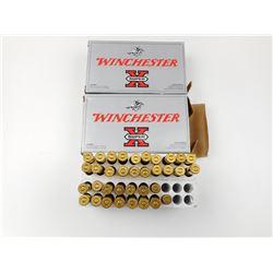 WINCHESTER SUPER-X 303 BRITISH AMMO, BRASS CASES
