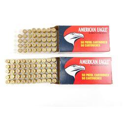AMERICAN EAGLE 45 AUTOMATIC PISTOL AMMO, BRASS