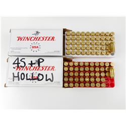 45 AUTOMATIC/45 SUPER ASSORTED AMMO