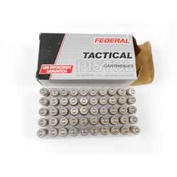 FEDERAL TACTICAL PISTOL 9MM LUGER AMMO