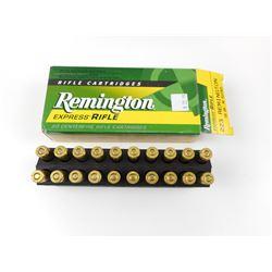 REMINGTON EXPRESS RIFLE, 223 REMINGTON AMMO
