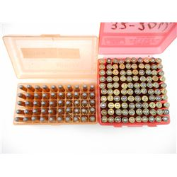 32-20 WIN RELOADED AMMO, BRASS