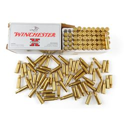 218 BEE AMMO, PRIMED CASES, BRASS
