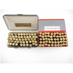 218 BEE RELOADED AMMO