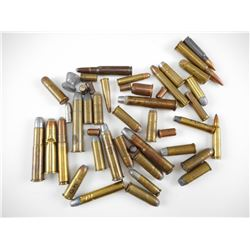 ASSORTED AMMO 43 MAUSER, 45-90, 375, 44-40