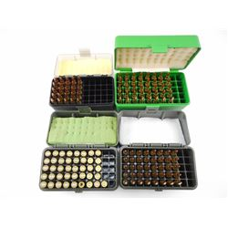 .223 REM RELOADED AMMO, BRASS