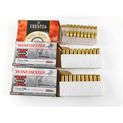 7MM-08 REM AMMO ASSORTED