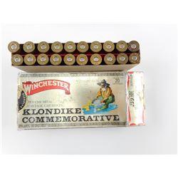 WINCHESTER KLONDIKE COMMEMORATIVE 30-30 WIN AMMO