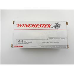 WINCHESTER 44 REM MAG AMMO