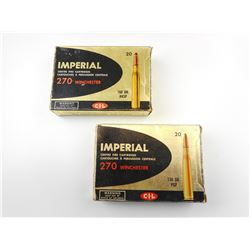 IMPERIAL 270 WINCHESTER AMMO