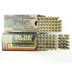 30 CARBINE ASSORTED AMMO