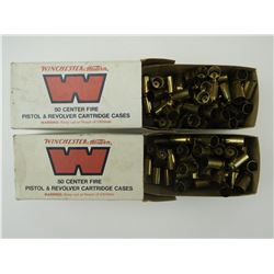 WINCHESTER 45 AUTOMATIC PRIMED BRASS CASES