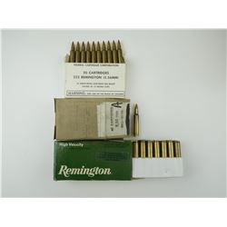 223 REM ASSORTED AMMO