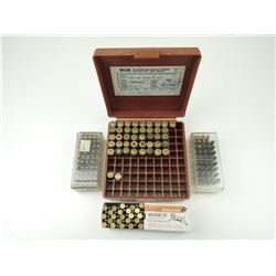 AMMO ASSORTED, 9MM, 22 LONG RIFLE