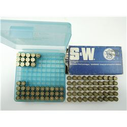 9MM RELOADED ASSORTED AMMO, BRASS