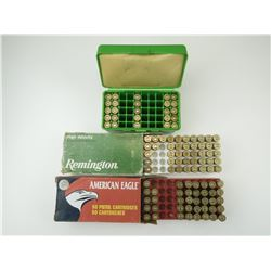 44 REM MAG RELOADED AMMO, BRASS, 44-40 WIN RELOADED AMMO