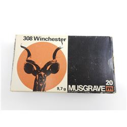 MUSGRAVE 308 WIN AMMO