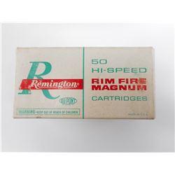 REMINGTON 5MM RIMFIRE AMMO