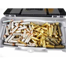 38 SPECIAL & 357 MAG AMMO IN PLASTIC CASE