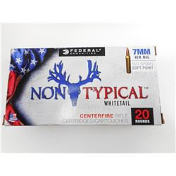 FEDERAL NON TYPICAL WHITETAIL 7MM REM MAG AMMO