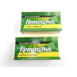 REMINGTON EXPRESS RIFLE 44-40 AMMO