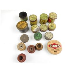 PERCUSSION CAPS ASSORTED, CAP REMOVERS, AIR RIFLE SHOT