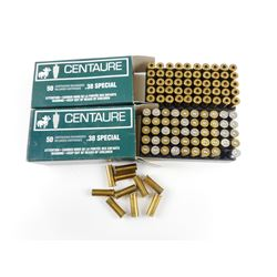 38 SPECIAL AMMO, BRASS CASES