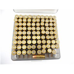 9MM LUGER AMMO IN PLASTIC CASE