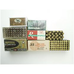 22 LONG RIFLE ASSORTED AMMO