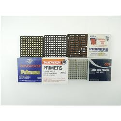 LARGE RIFLE ASSORTED PRIMERS