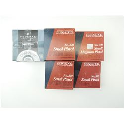 SMALL PISTOL PRIMERS ASSORTED