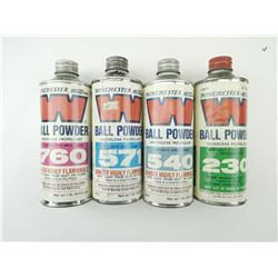 WINCHESTER BALL POWDER ASSORTED