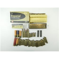 AMMO ASSORTED, BRASS CASES, SHOT SHELL EMPTIES