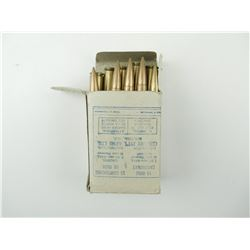 8MM MAUSER (7.92 X 57MM) AMMO DATED 1951
