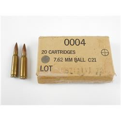 7.62 MM BALL AMMO
